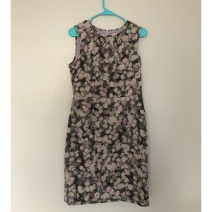 Loft Sleeveless Pastel Dress Size 8